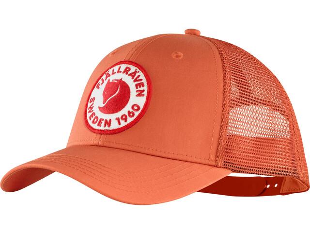 Fjällräven 1960 Logo Cappello, rosso